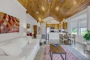 Azalea Suite Great Room in Jubilee Suites in Fairhope, AL