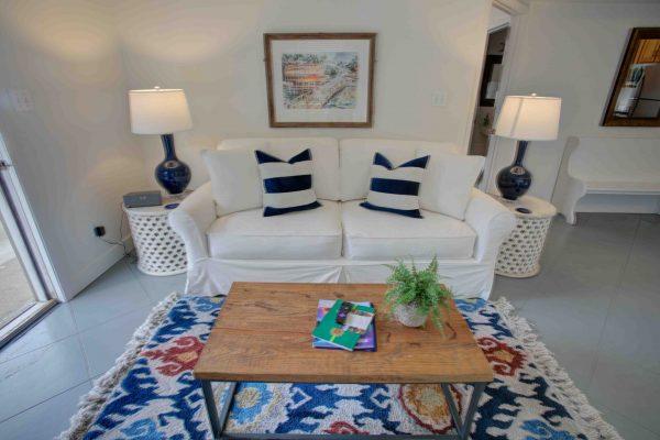 Jubilee Suites, Fairhope, AL- Camellia Living Room
