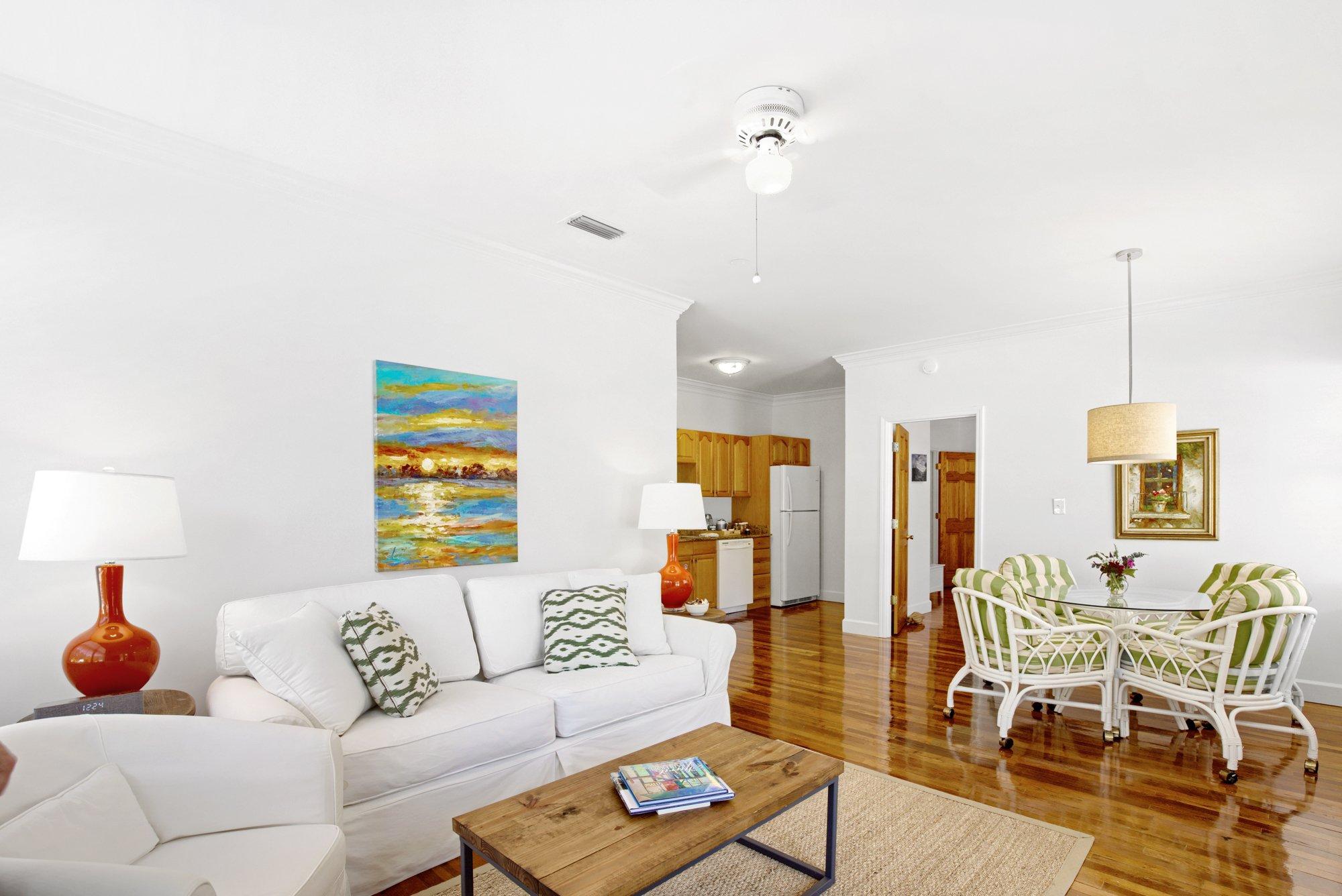 Charlotte Living Room Jubilee Suites in Fairhope, AL