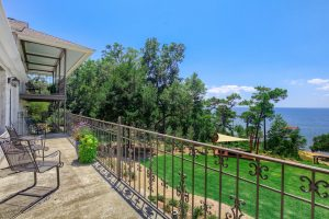 Cypress Suite Balcony at Jubilee Suites in Fairhope, AL