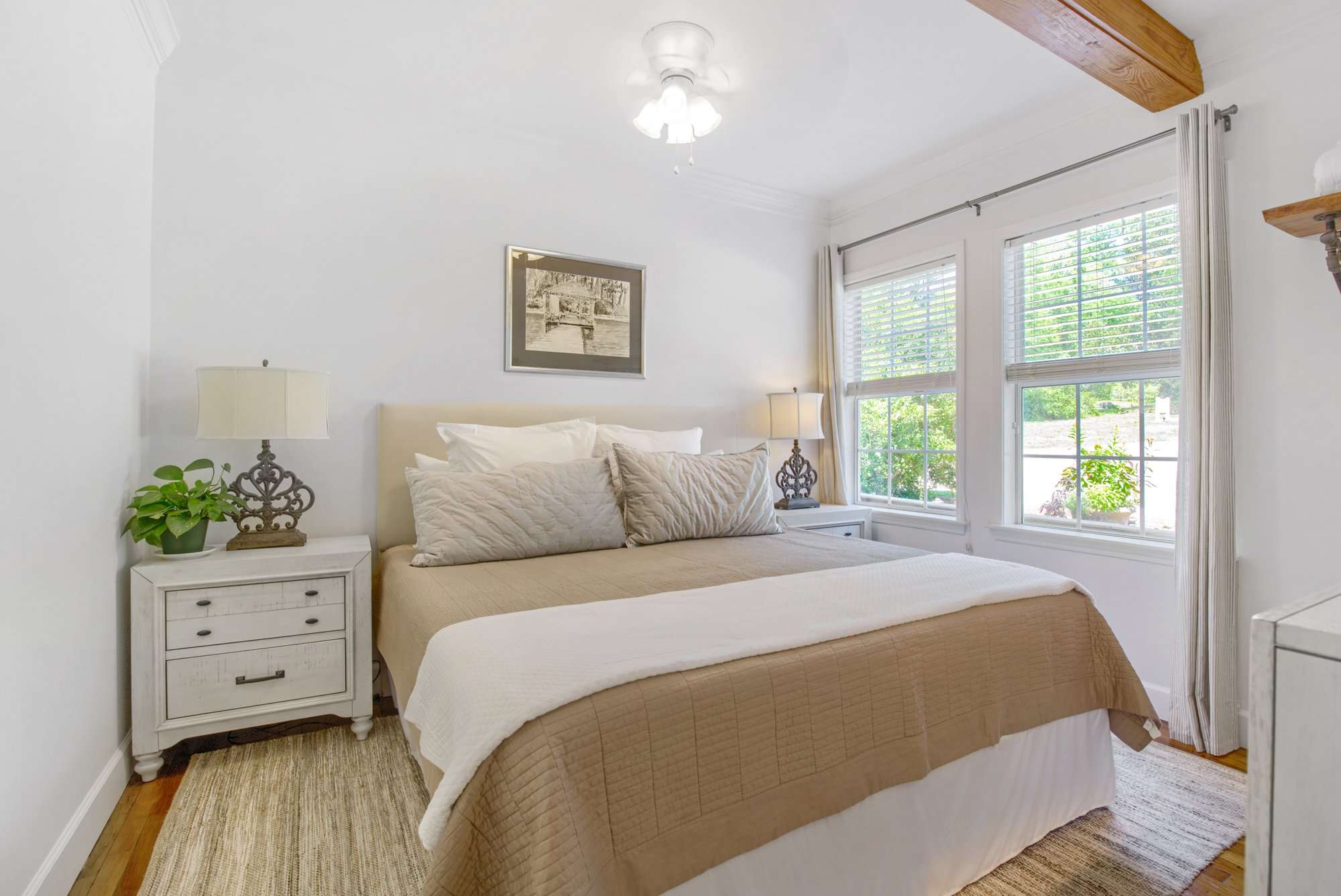 New Orleans Bedroom at Jubilee Suites in Fairhope, AL