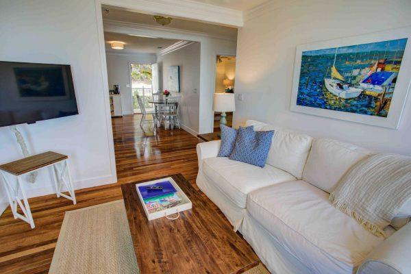 Jubilee Suites, Fairhope, AL- Cypress Suite Living Area