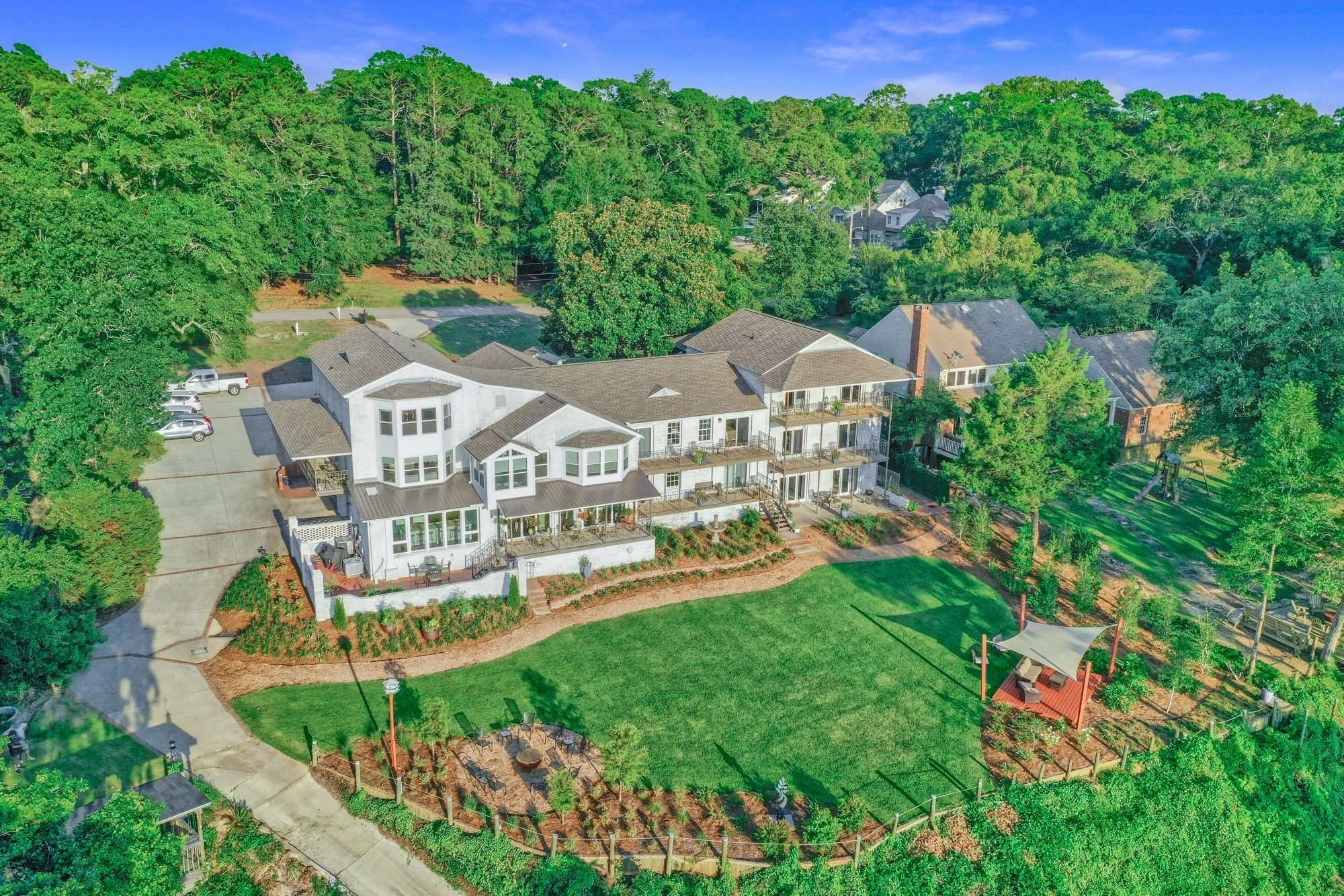 Jubilee Suites in Fairhope, AL Aerial