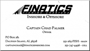Finatics fishing charter