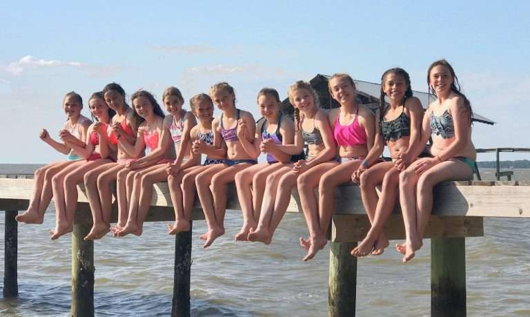 Girls soccer team at Jubilee Suites in Fairhope, AL