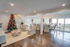 Jubilee Suites Great Room at Christmas Fairhope, AL