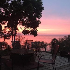 Sunset at Jubilee Suites in Fairhope, AL