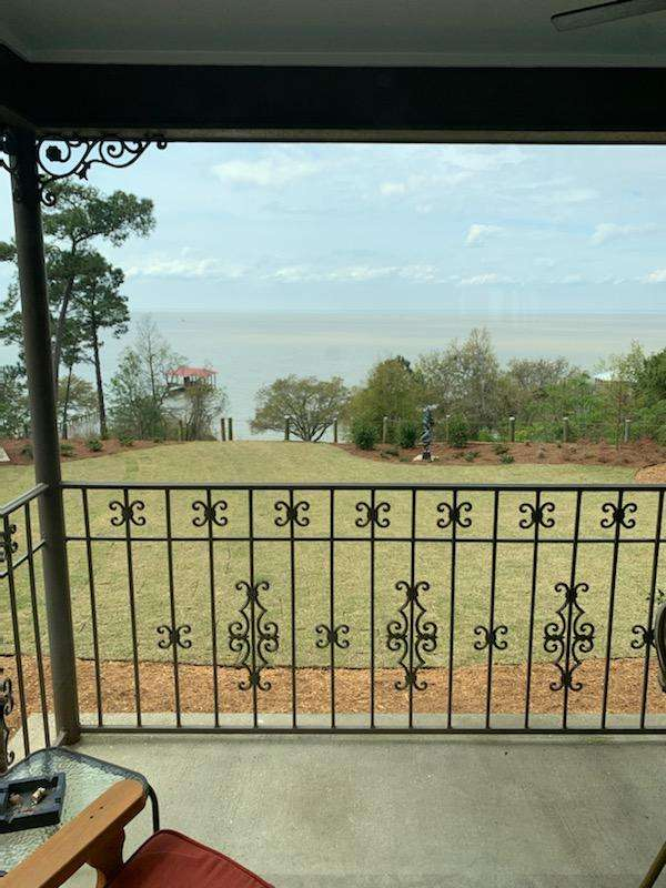View over Mobile Bay at Jubilee Suites, Fairhope, AL