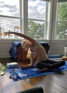Yoga class at Jubilee Suites Fairhope, AL