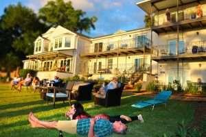 Sunset Celebration at Jubilee Suites in Fairhope, AL