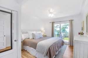 Magnolia Suite Bedroom at Jubilee Suites in Fairhope, AL