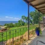 View from the Balcony at Jubilee Suites in Fairhope, AL