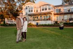 Jim and Dana Maloney, owners of Jubilee Suites in Fairhope, AL